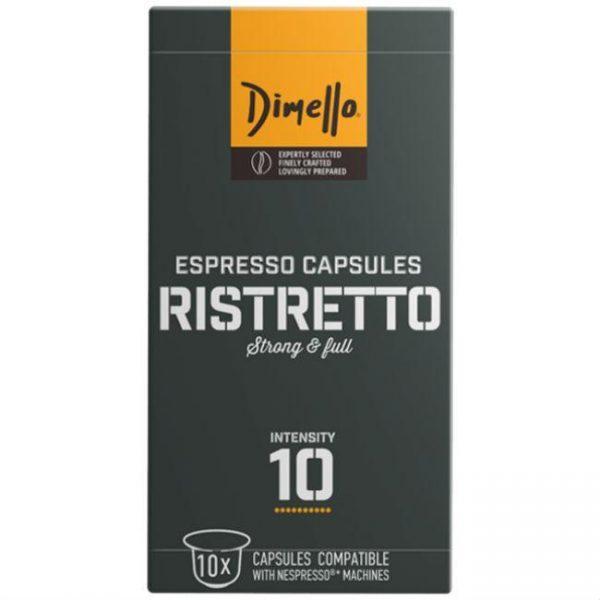 Capsule DIMELLO_Ristretto_Dark roast_compatibile Nespresso_10 capsule
