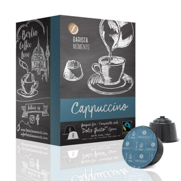 Capsule Barista Moments – Cappuccino - compatibile Dolce Gusto - 16 capsule