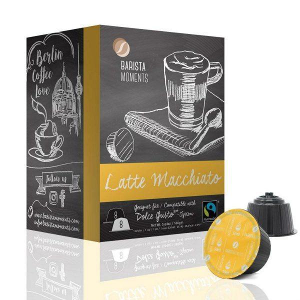 Capsule Barista Moments – Latte macchiato - compatibile Dolce Gusto - 16 capsule