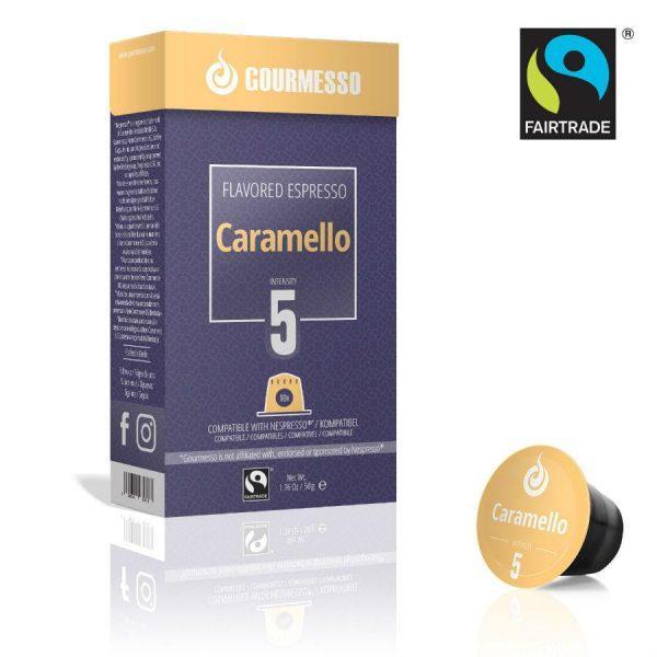 Capsule Gourmesso – Caramello - compatibile Nespresso - 10 capsule