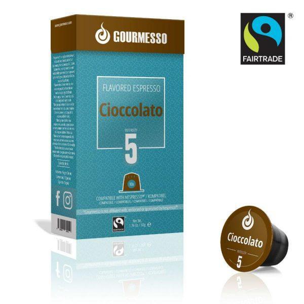 Capsule Gourmesso – Cioccolato - compatibile Nespresso - 10 capsule