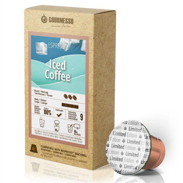 Capsule Gourmesso – Iced Coffee - Ediție limitată - compatibile Nespresso - 10 capsule