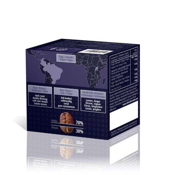 Capsule Gourmesso – Intense Espresso – Late Nite Lemur, compatibile Nespresso, 10 capsule