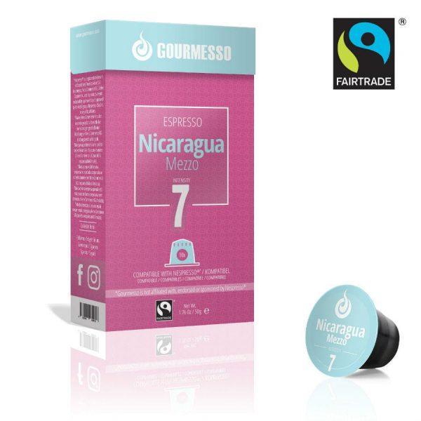 Capsule Gourmesso – Nicaragua Mezzo - compatibile Nespresso - 10 capsule