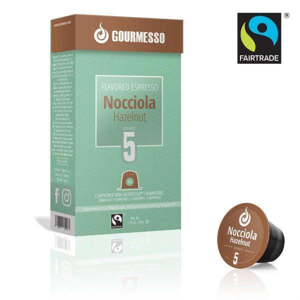 Capsule Gourmesso – Nocciola - compatibile Nespresso - 10 capsule