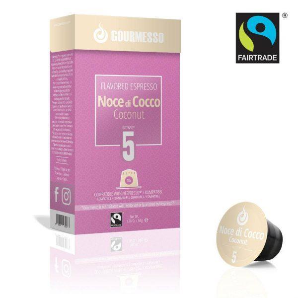 Capsule Gourmesso – Noce di Cocco - compatibile Nespresso - 10 capsule
