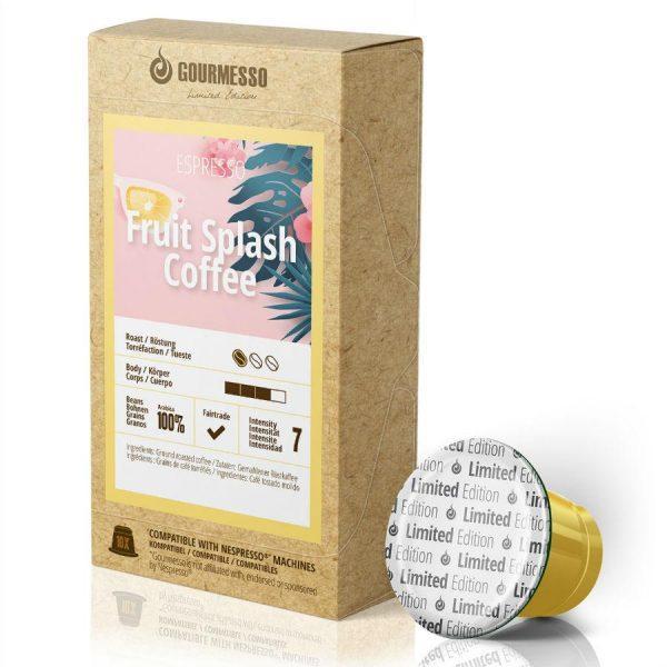 Capsule Gourmesso –Fruit Splash Coffee - Ediție limitată - compatibile Nespresso - 10 capsule