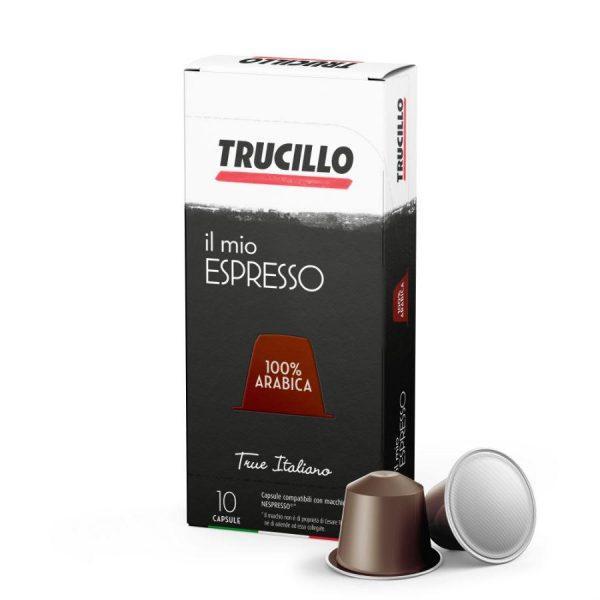 Capsule cafea Trucillo – Il Mio Espresso 100% Arabica - compatibile Nespresso - 10 capsule