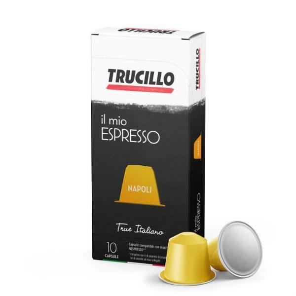 Capsule cafea Trucillo – Il Mio Espresso Napoli - compatibile Nespresso - 10 capsule