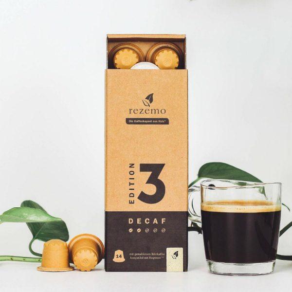 Capsule rezemo – Decaf Edition 3 - compatibile Nespresso - 14 capsule