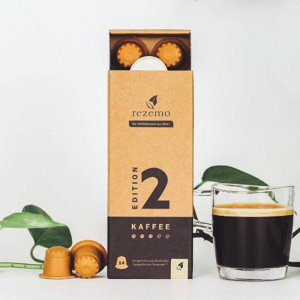 Capsule rezemo – Kaffee Edition 2 - compatibile Nespresso - 14 capsule