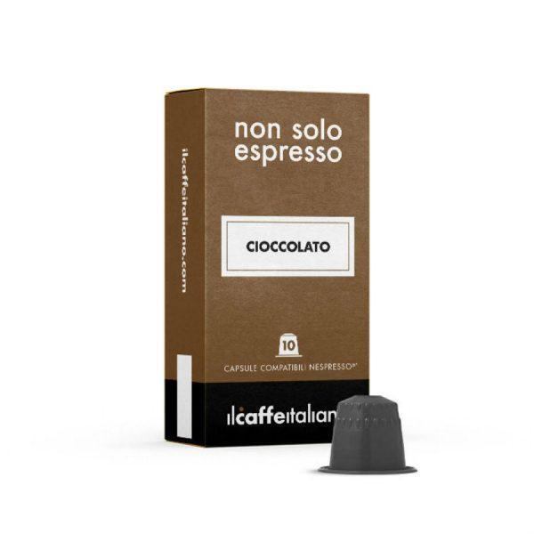 Capsule cafea_ll Caffe Italiano_Cioccolato_compatibile Nespresso_10 capsule