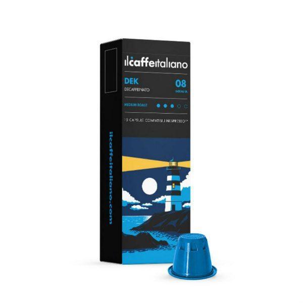 Capsule cafea_ll Caffe Italiano_DEK_compatibile Nespresso_10 capsule