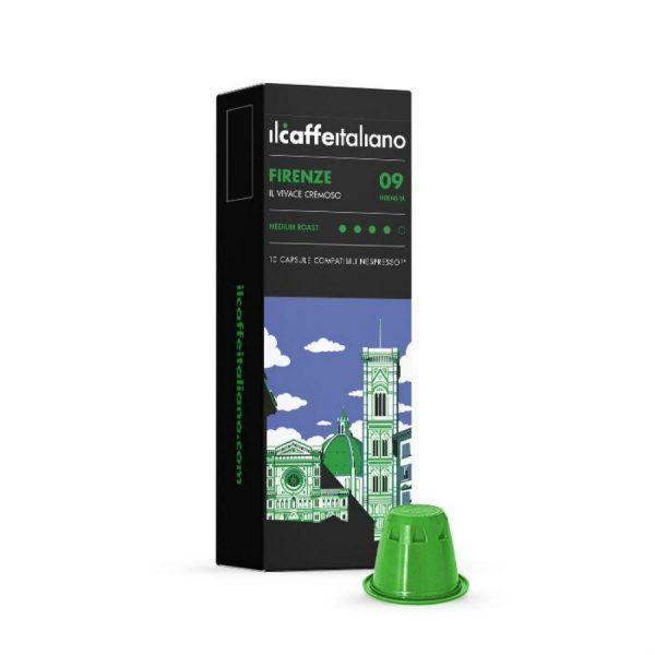 Capsule cafea_ll Caffe Italiano_Firenze_compatibile Nespresso_10 capsule