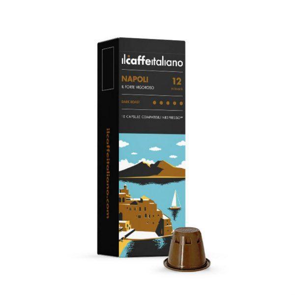 Capsule cafea_ll Caffe Italiano_Napoli_compatibile Nespresso_10 capsule