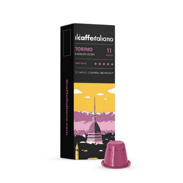 Capsule cafea_ll Caffe Italiano_Torino_compatibile Nespresso_10 capsule