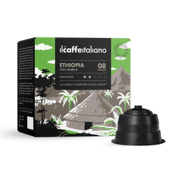 Capsule ll Caffe Italiano_Ethiopia_compatibile Dolce Gusto_16 capsule