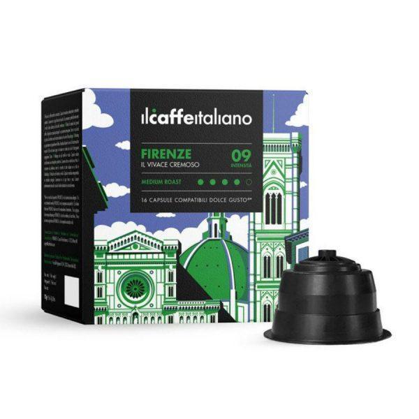Capsule ll Caffe Italiano_Firenze_compatibile Dolce Gusto_16 capsule