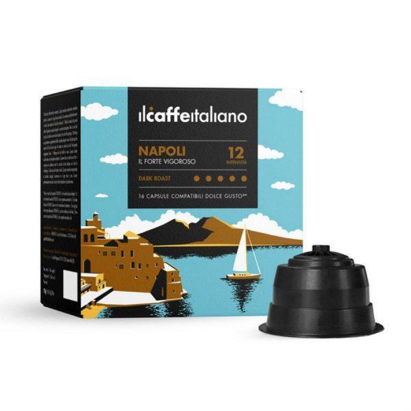 Capsule ll Caffe Italiano_Napoli_compatibile Dolce Gusto_16 capsule