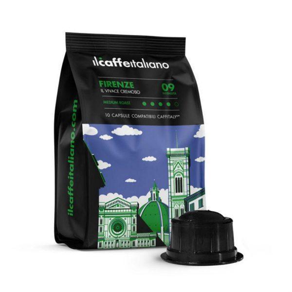Capsule_ll Caffe Italiano_Firenze_compatibile_Caffitaly_Cafissimo_Beanz_10 capsule