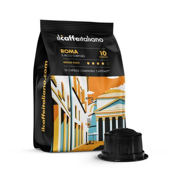 Capsule_ll Caffe Italiano_Roma_compatibile_Caffitaly_Cafissimo_Beanz_10 capsule