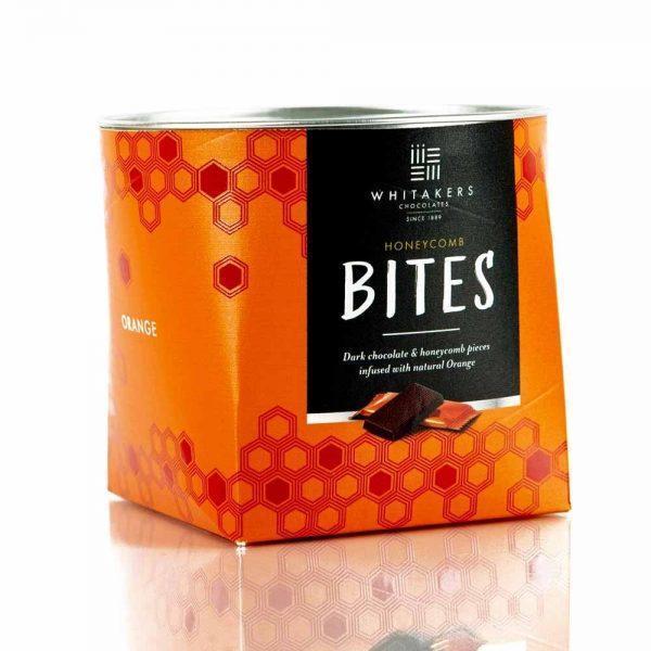 Cutie cu ciocolată Whitakers - Honeycomb Bites cu portocale