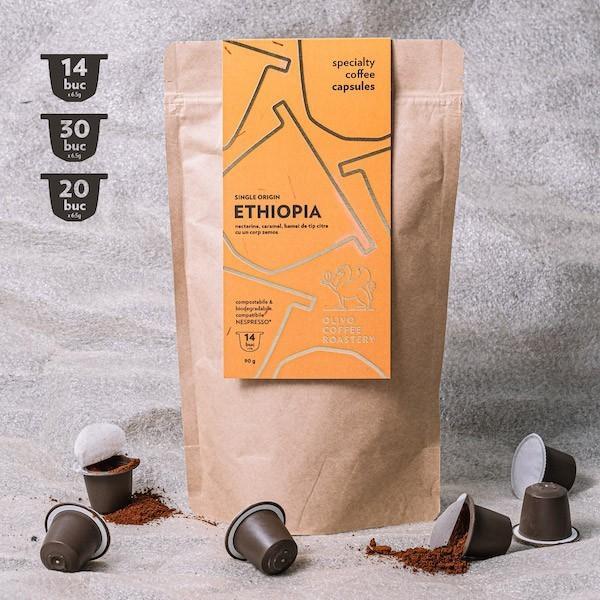 Capsule cafea de specialitate Olivo - Ethiopia