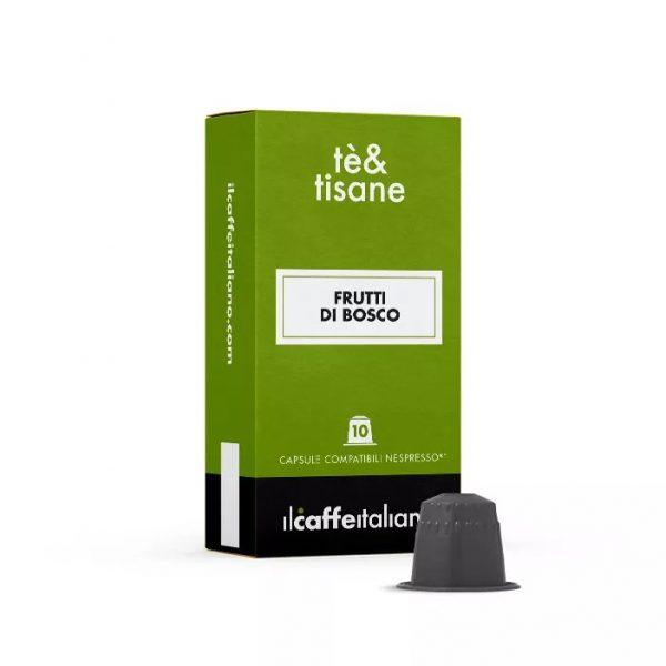 Capsule ll Caffe Italiano te&tisane Frutti di Bosco_compatibile Nespresso_10 capsule