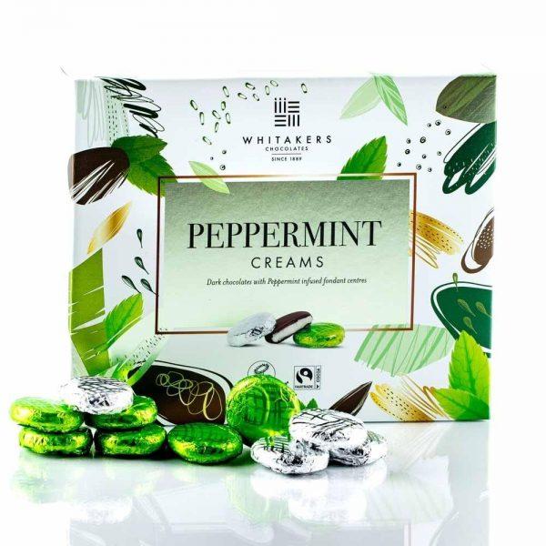Cutie cu ciocolată Whitakers - Peppermint Creams Collection