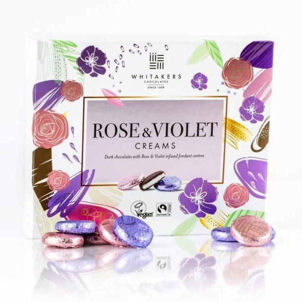 Cutie cu ciocolată Whitakers - Rose and Violet collection