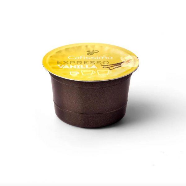 Capsule cafea Tchibo Cafissimo Flavoured Edition Espresso Vanilla, 10 capsule