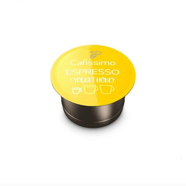 Capsule cafea Tchibo Cafissimo Flavoured Edition_Espresso Yogurt Honey_ediție limitată_10 capsule