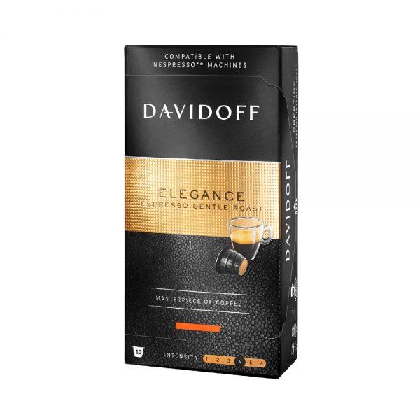 Capsule cafea Davidoff Elegance_compatibile Nespresso_10 capsule