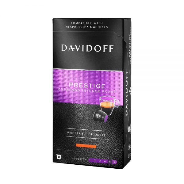 Capsule cafea Davidoff Prestige, compatibile Nespresso, 10 capsule