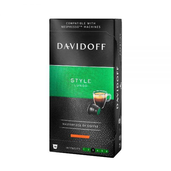Capsule cafea Davidoff Style, compatibile Nespresso, 10 capsule
